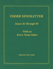 YODER NEWSLETTER Issues 26 through 50