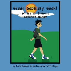 Great Gooblety Gook! Where is Simon's Favorite Book?