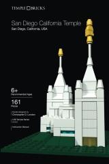 Temple Bricks: San Diego California Temple
