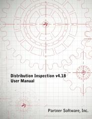 Distribution Inspection v4.18 User Manual