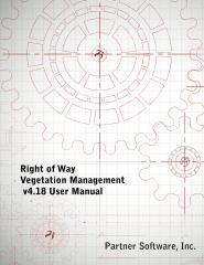 Right of Way Vegetation Management v4.18 User Manual