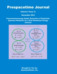 Prespacetime Journal Volume 5 Issue 11