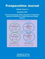 Prespacetime Journal Volume 5 Issue 11
