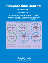 Prespacetime Journal Volume 5 Issue 12
