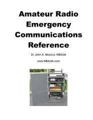 Amateur Radio Emergency Communications Reference