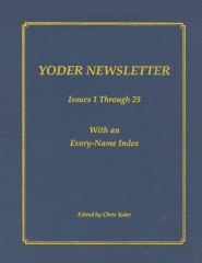 YODER NEWSLETTER Issues 1 through 25