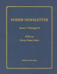 YODER NEWSLETTER Issues 1 through 25
