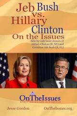 Hillary Clinton vs. Jeb Bush On The Issues
