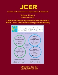 Journal of Consciousness Exploration & Research Volume 5 Issue 9