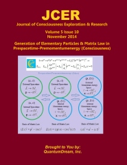 Journal of Consciousness Exploration & Research Volume 5 Issue 10