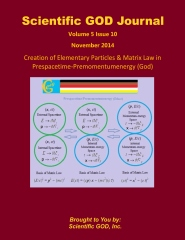 Scientific GOD Journal Volume 5 Issue 10