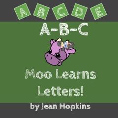 A-B-C Moo Learns Letters!