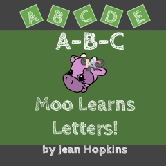 A-B-C Moo Learns Letters!