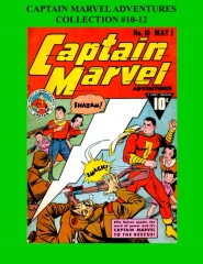 Captain Marvel Adventures Collection #10-12