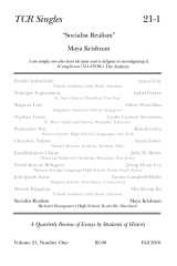 TCR Singles 21-1 Socialist Realism
