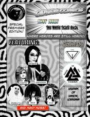 Catseye Comics Premiere: Black and White Edition