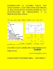 Introduccion al algebra lineal con aplicaciones