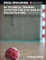 60 Technical Training Activities for 8-18 Year Old Soccer Players