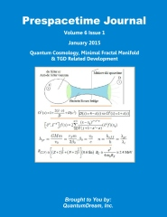 Prespacetime Journal Volume 6 Issue 1