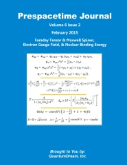 Prespacetime Journal Volume 6 Issue 2