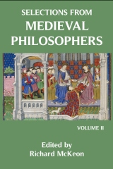 Selections from Medieval Philosophers (Vol. 2)