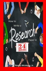 How to Write a Research Paper in 24 Hours