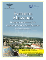 Faithful Measure: Gauging Awareness of the Catholic Church's Social Doctrine