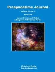 Prespacetime Journal Volume 6 Issue 4
