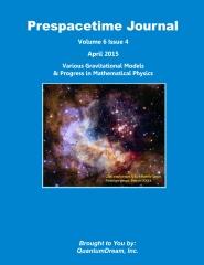Prespacetime Journal Volume 6 Issue 4