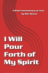I Will Pour Forth of My Spirit
