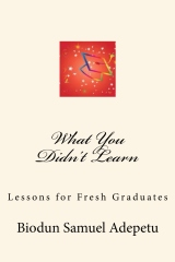 What You Didn't Learn