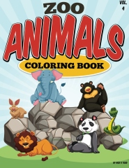 Zoo Animals Coloring Book Animals