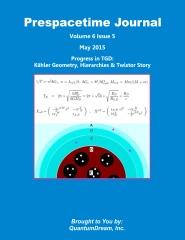 Prespacetime Journal Volume 6 Issue 5