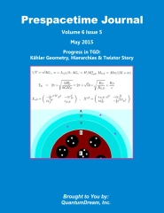 Prespacetime Journal Volume 6 Issue 5