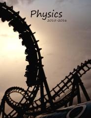 Physics 2015 - 2016