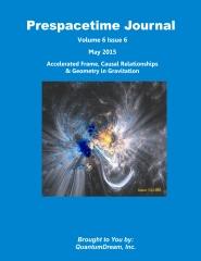 Prespacetime Journal Volume 6 Issue 6