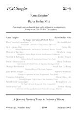 TCR Singles 25-4 Aztec Empire