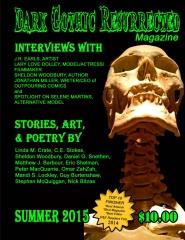 Dark Gothic Resurrected Magazine, Summer 2015