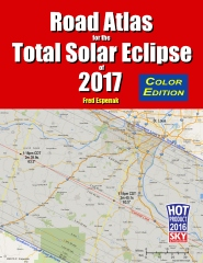 Road Atlas for the Total Solar Eclipse of 2017