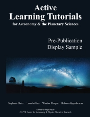 Active Learning Tutorials for Astronomy & the Planetary Sciences