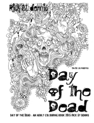 The Day of the Dead - an adult colouring book