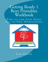 Getting Ready 1 Boys Printables Workbook