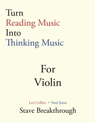 Turn Reading Music Into Thinking Music  For VIOLIN
