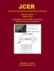 Journal of Consciousness Exploration & Research Volume 6 Issue 7
