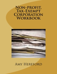 Non-profit, Tax-Exempt Corporation Workbook