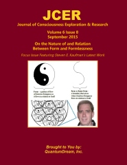 Journal of Consciousness Exploration & Research Volume 6 Issue 8