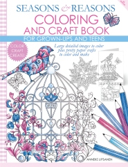 Seasons and Reasons Coloring and Craft Book