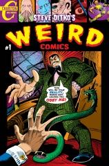 Steve Ditko's WEIRD Comics #1