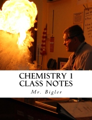 Chemistry 1 Class Notes