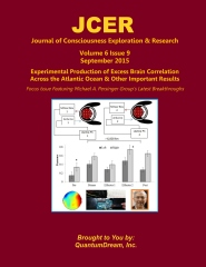 Journal of Consciousness Exploration & Research Volume 6 Issue 9